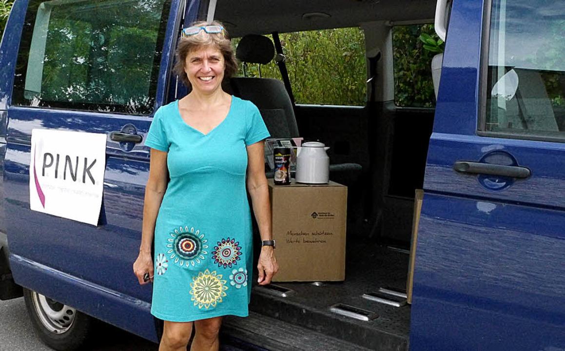 Sozialarbeiterin Claudia Schnebel hat ...ilfe für Prostituierte anbieten kann.     Foto: Michaela Gabriel