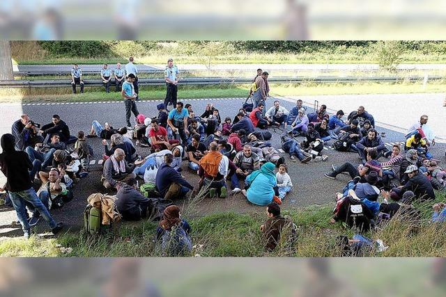 Regierung will den Zuzug von Asylsuchenden aus Deutschland verhindern