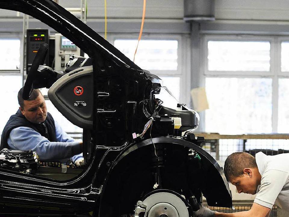 Smart-Produktion in Hambach   | Foto: AFP