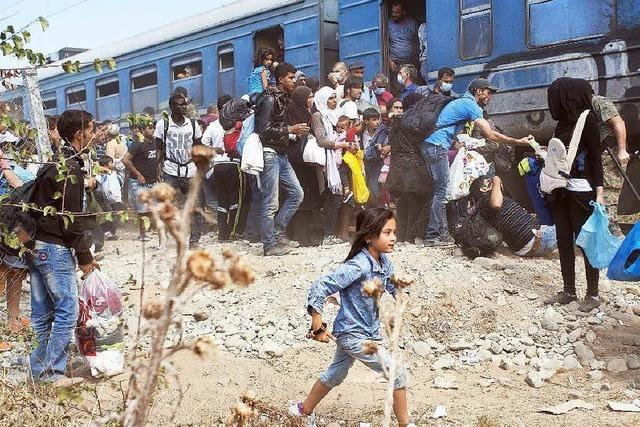 Trip ins Ungewisse: Mit dem Flüchtlingstreck durch Mazedonien