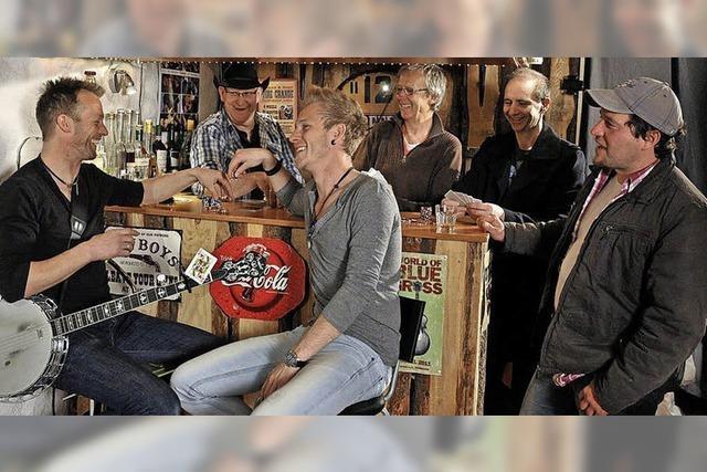 Die Band Blackwood Mary in der Lokalität Baumann