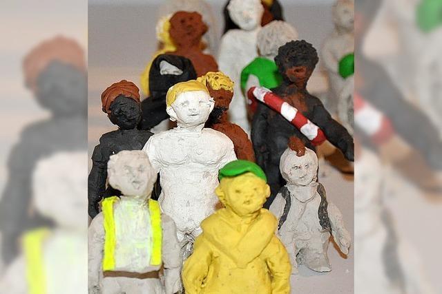 Kunst für Kinderrechte in Freiburg