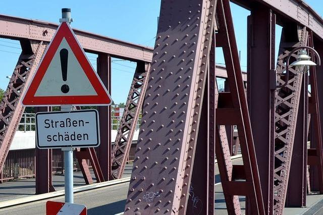 Friedensbrücke: Drei Tage Vollsperrung