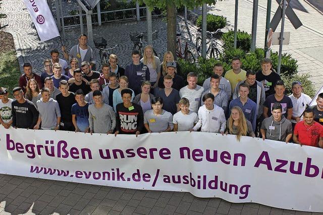 Für 44 junge Leute beginnt die Ausbildung