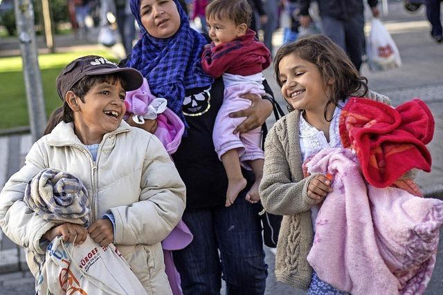 Tausende Flüchtlinge