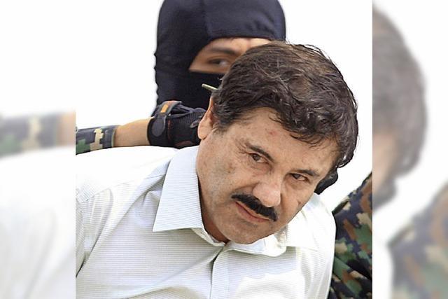 Mafia-Boss El Chapo weiter auf der Flucht
