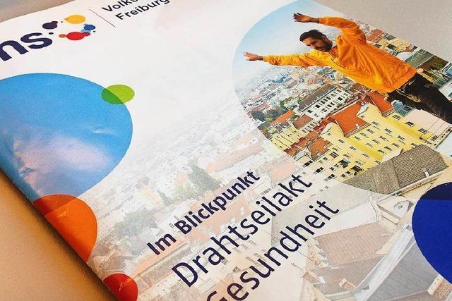 Warum ist auf dem Programmheft der VHS Freiburg ein Bild aus Wien?