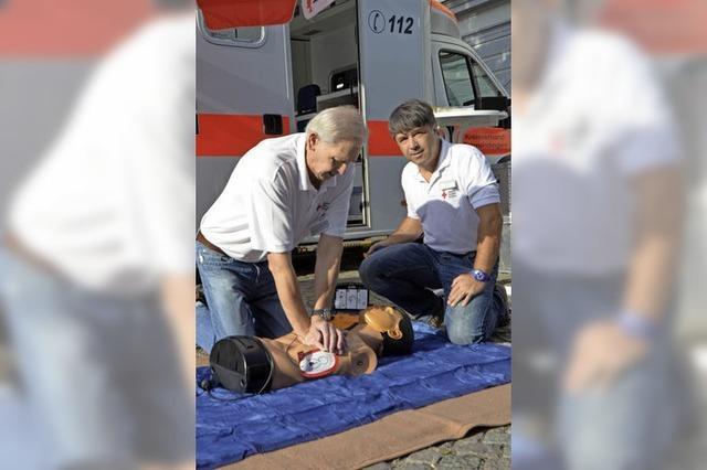 Keine Angst vor dem Defibrillator