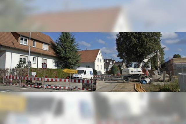 Sanierung in Reute bald abgeschlossen