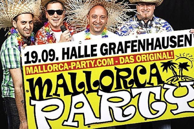 Malle-Party in der Halle