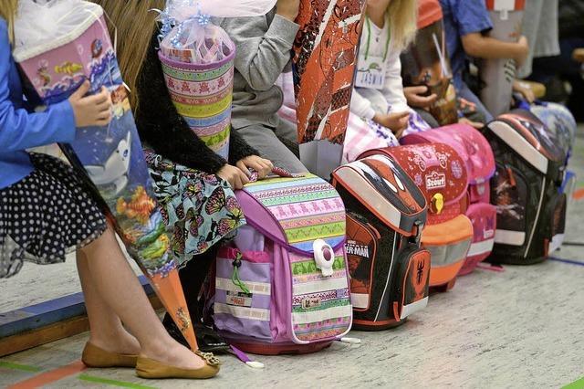 Auch Flüchtlingskinder an der Schule