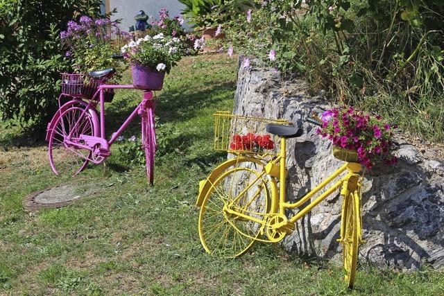 Als echte Fahrräder
