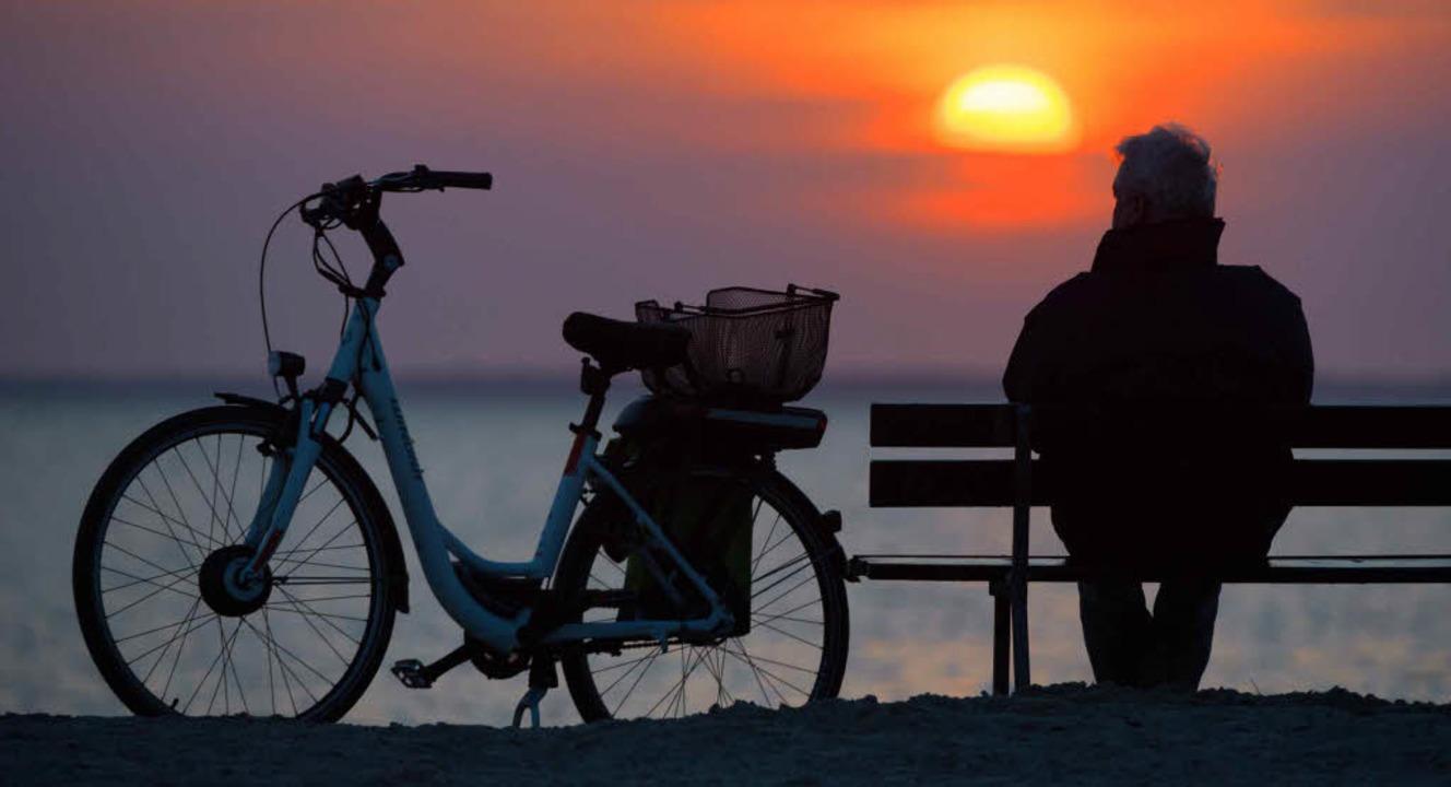 Sonnenuntergänge, Spaziergänge, ein Ca...11; jeder Mensch braucht Rückzugsorte.  | Foto: DPA/Jaeger (3)/Heizmann