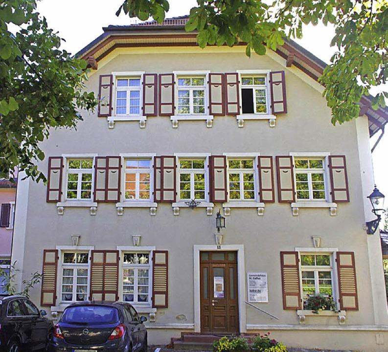 1807 wurde hier das Gasthaus Adler neu... katholische Gemeindehaus St. Gallus.   | Foto: Jahnke