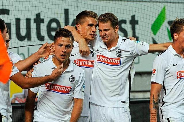Der SC Freiburg gewinnt mit 2:0 in Kaiserslautern