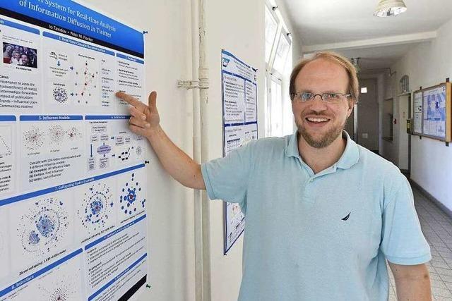 Peter Fischer untersucht Verbreitung von Nachrichten im Netz