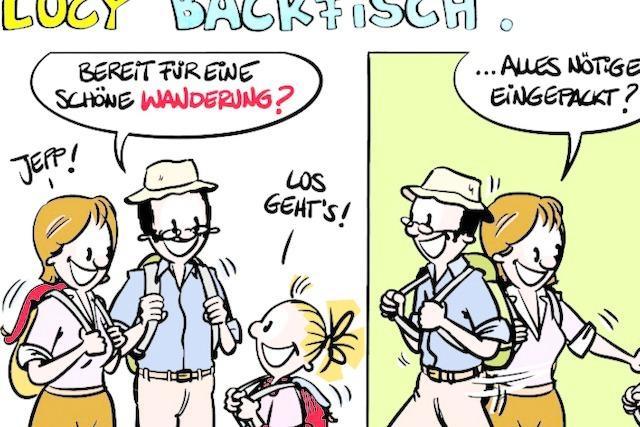 Lucy Backfisch: Auf der Flucht?