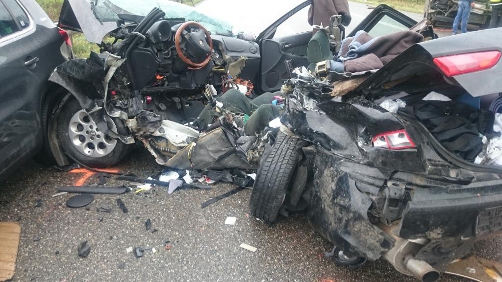 Unfall A5 Neuenburg