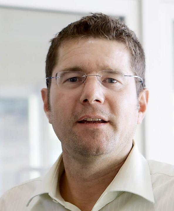 Geschäftsführer Rolf Huber  | Foto: Christoph Breithaupt