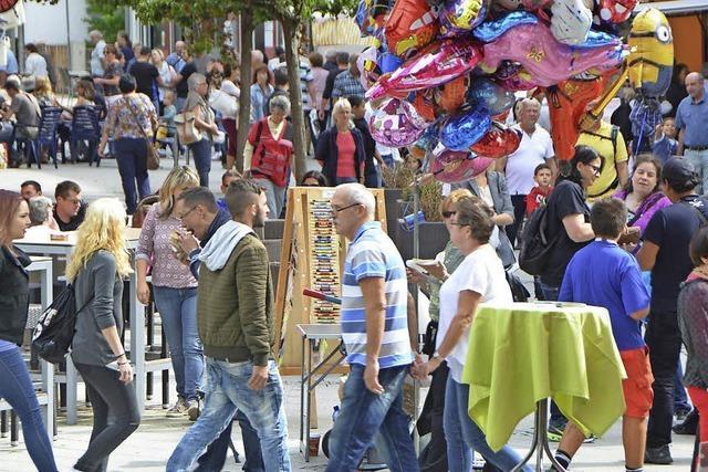 Rheinfelder City präsentiert sich bunt