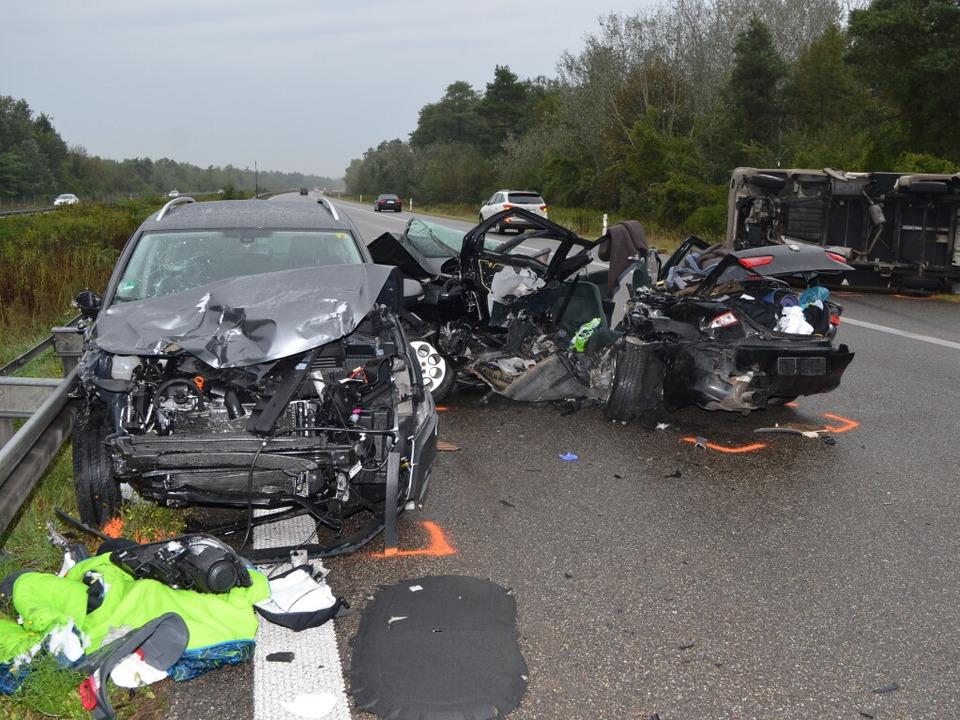 Drei Tote nach Unfall auf der Autobahn  | Foto: kamera24.tv
