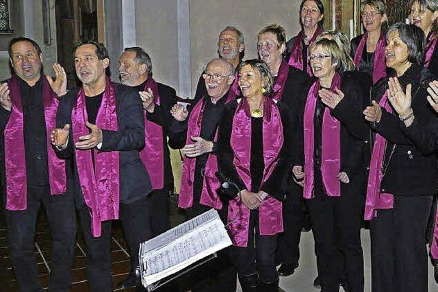 Gospelkonzert mit Soulvation Chor in Mengen