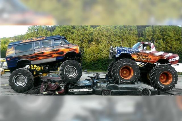 Die Germania Monster Truck Show Chaos Extrem in Bad Säckingen