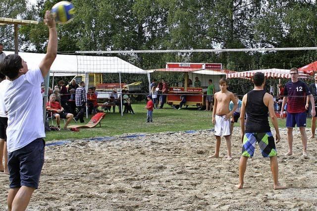 Ganzes Dorf feiert sein Ferienprogramm
