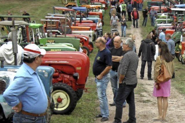 Traktoren stehen im Mittelpunkt