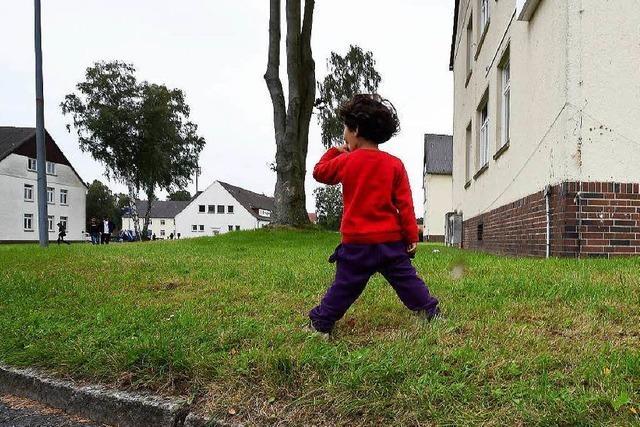 Grün-Rot will Kasernen für Flüchtlinge nutzen