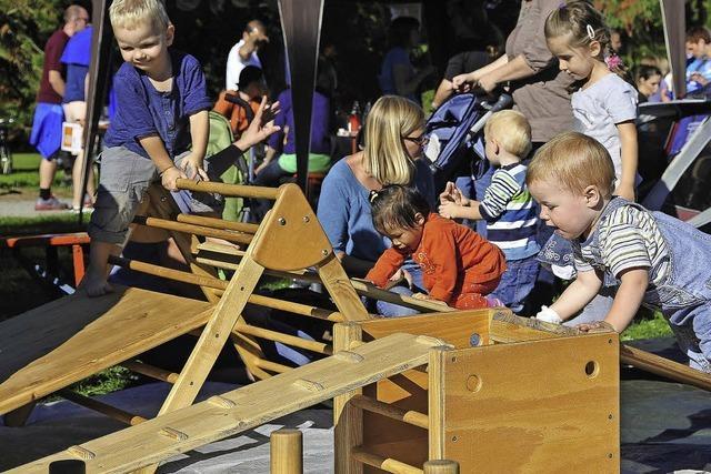 Spiel- und Mitmachaktionen beim Weltkindertag im Seepark