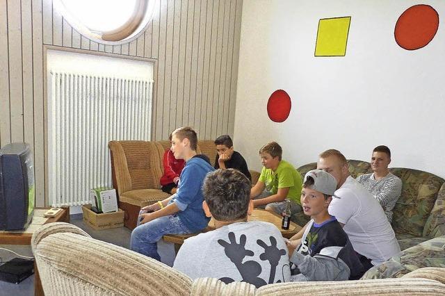 Jugendraum ist gut besucht