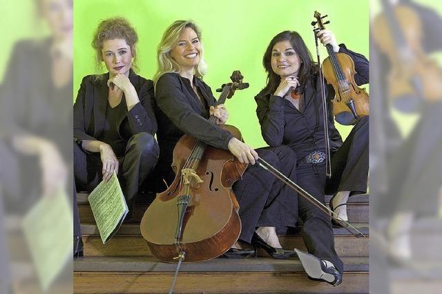 Das Trio Artemis spielt Mozart und Bizet im Sigma-Zentrum