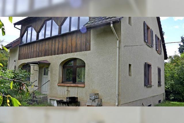 Unbewohnte Villa am Kapfrain soll vier Einfamilienhäusern weichen