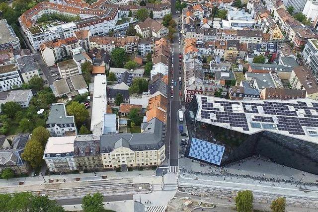 Uni Freiburg plant neues Kollegiengebäude im Sedanquartier