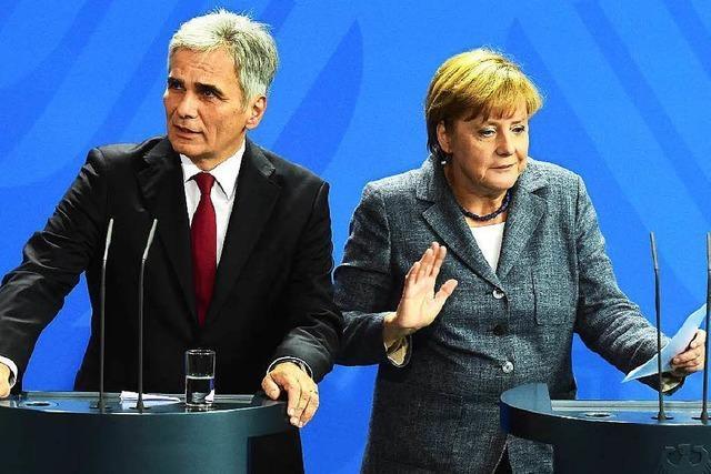 Flüchtlingspolitik: Von Sanktionen hält Merkel wenig