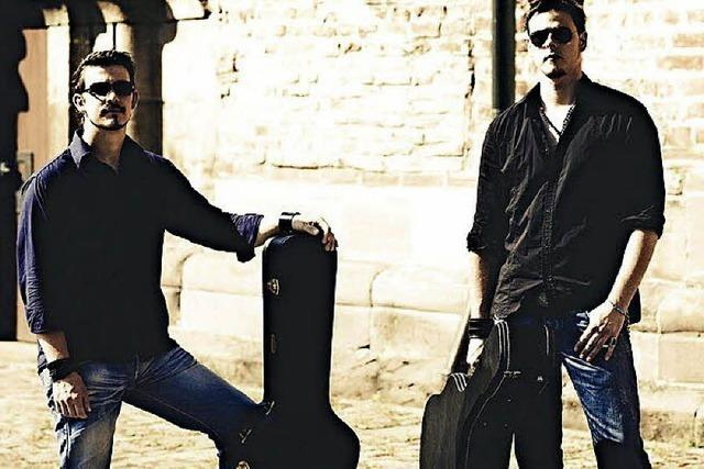 Duo Tribute singt Rock- und Bluescover in Altdorf