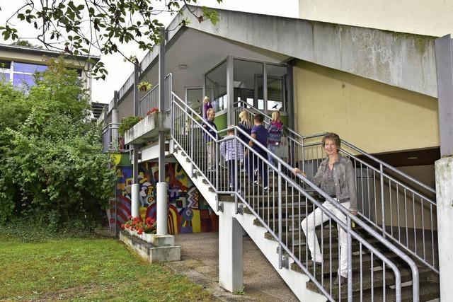Malterdinger Grundschule: Überdachung der Treppe ist Sanierungsfall