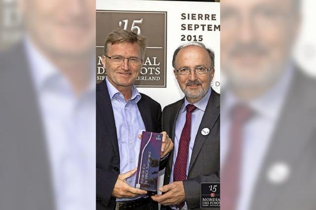 """Premiumwein der WG Britzingen: """"Muggardt"""" zählt zu den weltweit Besten"""