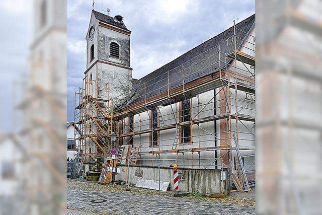 Die Sanierung der Thomaskirche startet