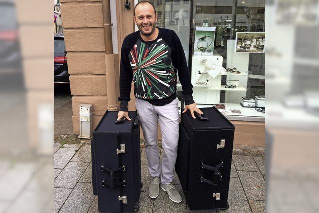 Zwei große Koffer!