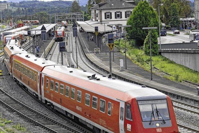 Stillstand bei der Bahn