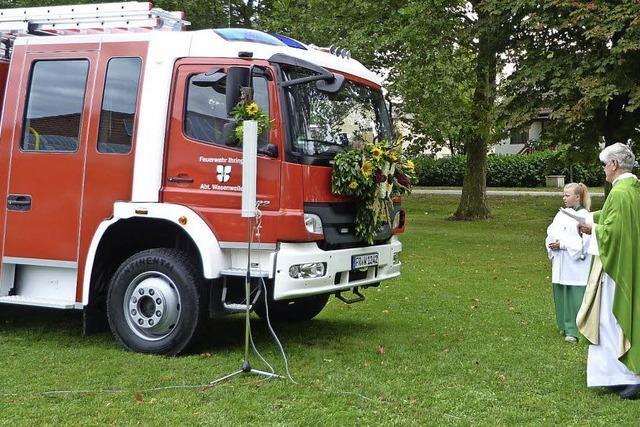 Ein neues Auto für die Feuerwehr