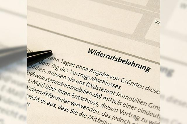 Verbraucherschützer kritisieren Pläne für neues Kreditrecht