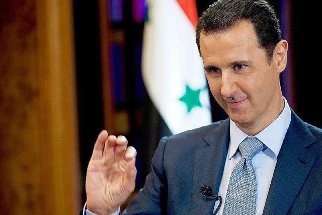 USA bestehen auf Ablösung von Assad