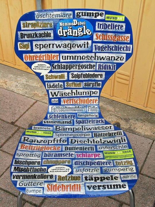 Muttersprache oder Kauderwelsch? Bei M... in Bad Bellingen ist das keine Frage.  | Foto: Archivfoto: Jutta Schütz