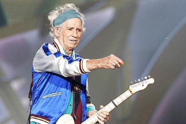 Richards: Rolling Stones nehmen 2016 neues Album auf