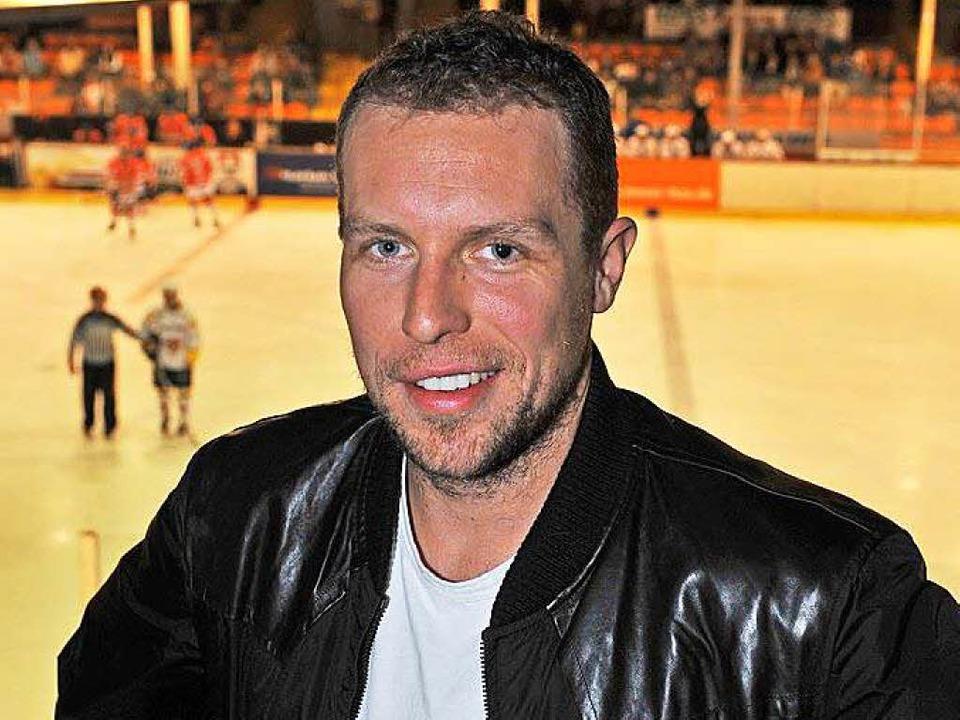 2010 war Dany Heatley zu Gast im Freiburger Eisstadion.  | Foto: Patrick Seeger