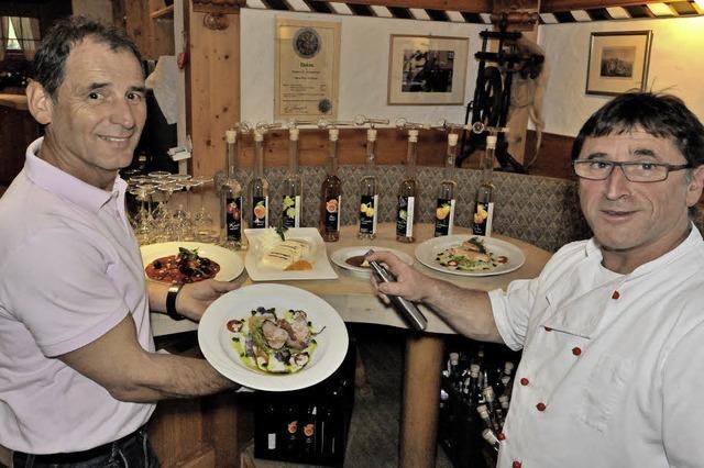 Die beliebten Brenner-Menüs: Balance von Destillat und Speise