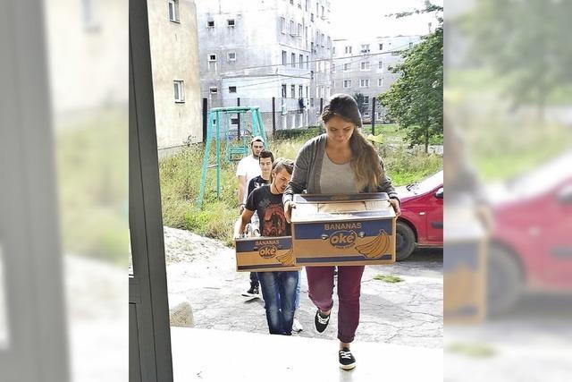 Hilfsgüter für Rumänien